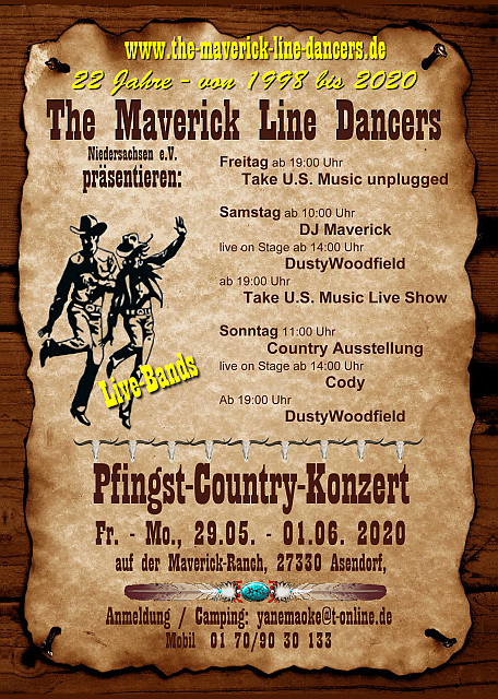 "Bild ""Events:Maverick_Pfingst_Country_Konzert_2020.jpg"""